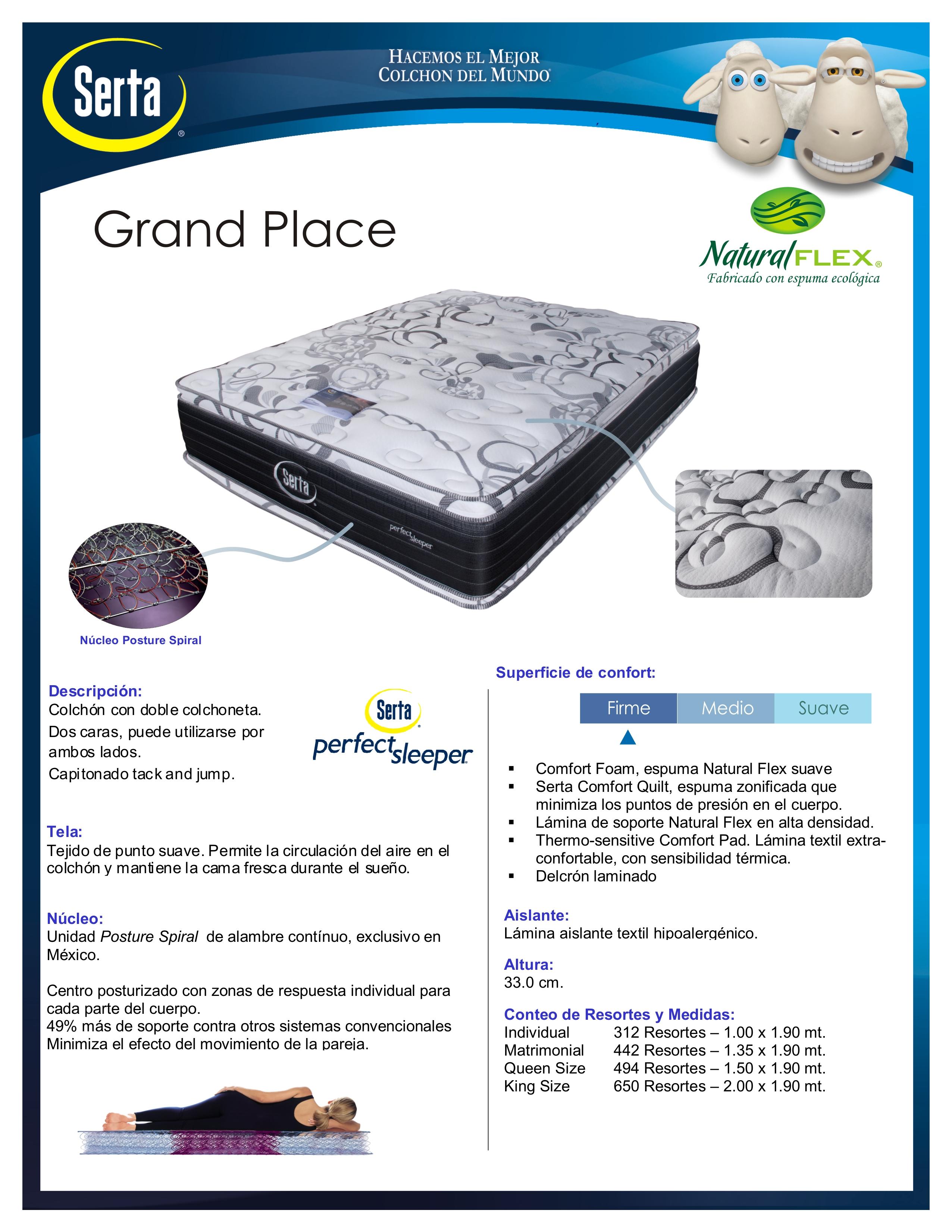 Serta Grand Place Mr Vallarta S