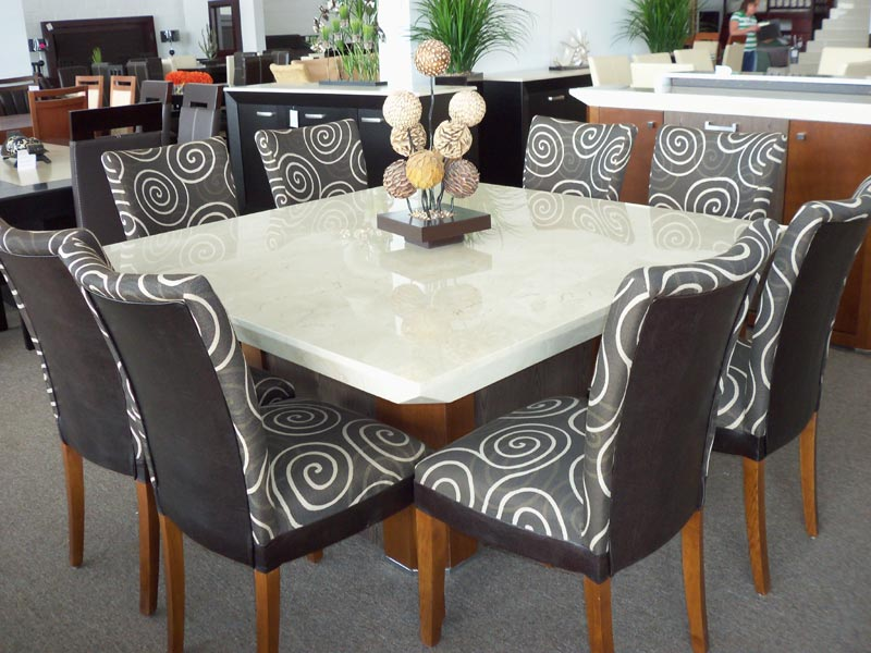 Marble Dining Table For 8 Capri Mr Vallarta S
