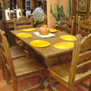 Rustic Six Person Table