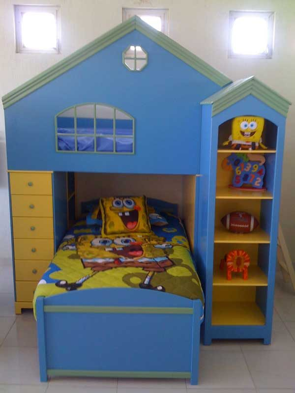 Pleasing Spongebob Bunk Bed Gmtry Best Dining Table And Chair Ideas Images Gmtryco