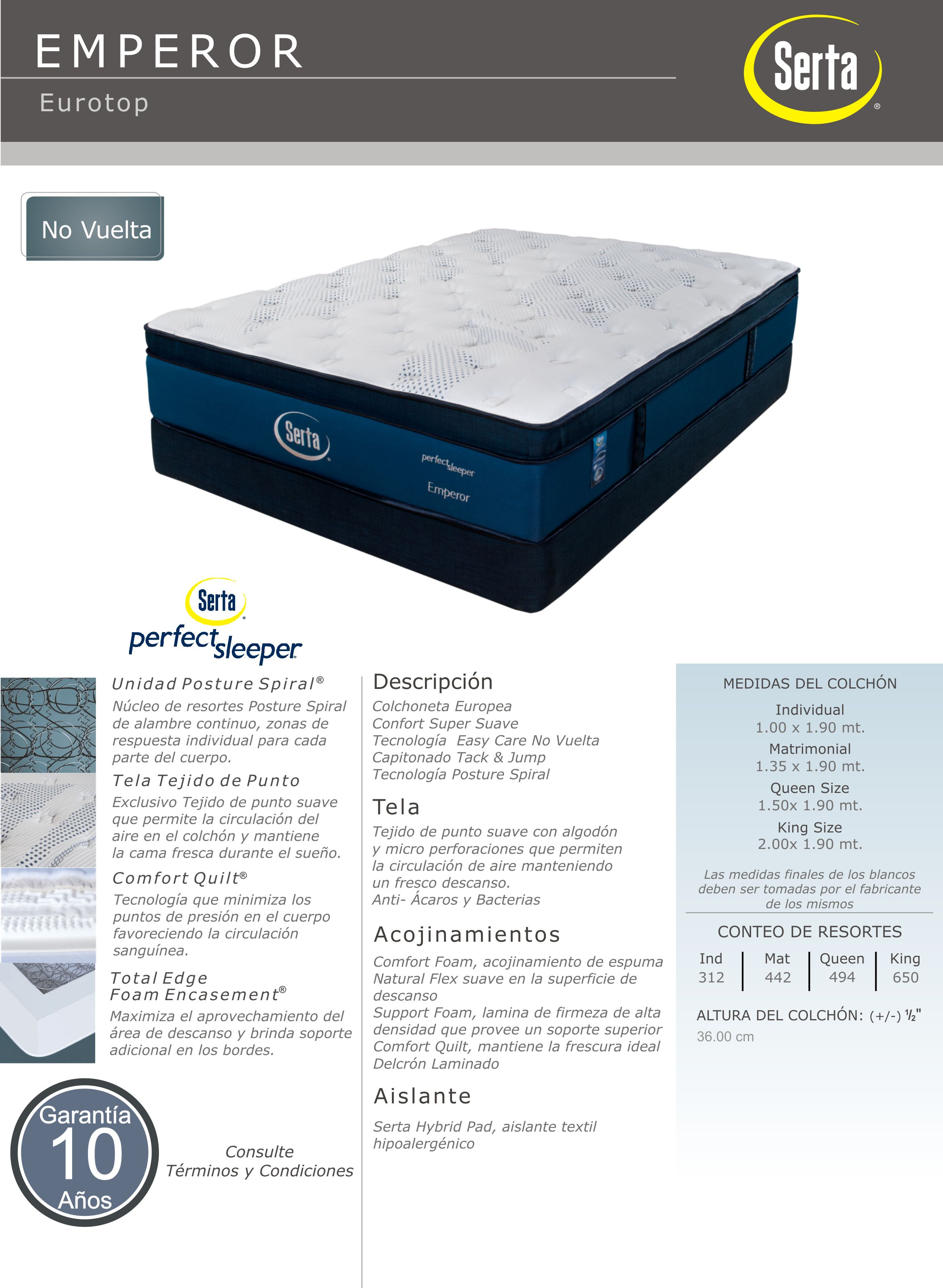 size garden cromwell mattresses spring queen set serta shipping home free and box firm overstock today mattress product